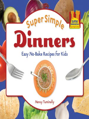 cover image of Super Simple Dinners